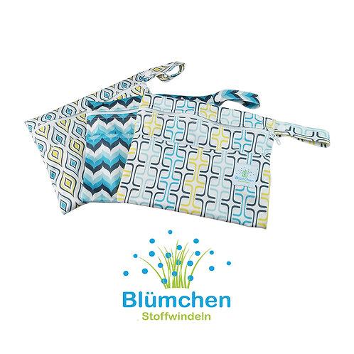 Blümchen PUL Tasche für Slipeinlagen XS