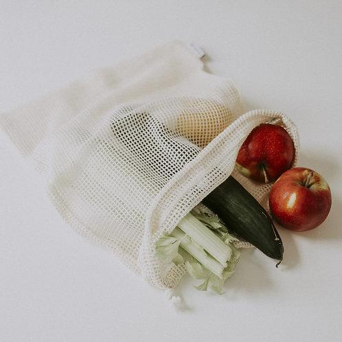Gemüse- oder Wäschenetze aus Bio-Baumwolle