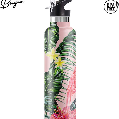Bougie My Bottle Stainless Steel Double Walled Insulated Water Bottle with Wide
