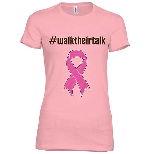 Awareness #Walktheirtalk Summer Tee