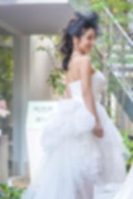 ウィンタータイプのウェディングドレス