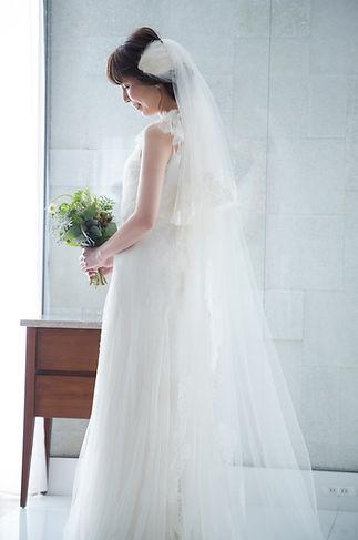 サマータイプのウェディングドレス