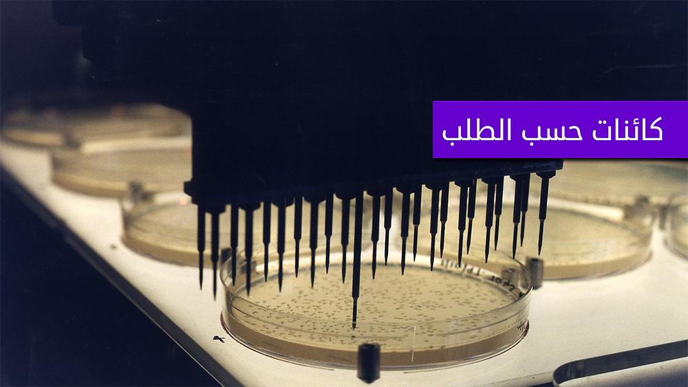جينوم في مختبر