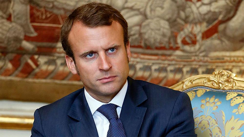 ايمانويل ماكرون مرشح الانتخابات الفرنسية