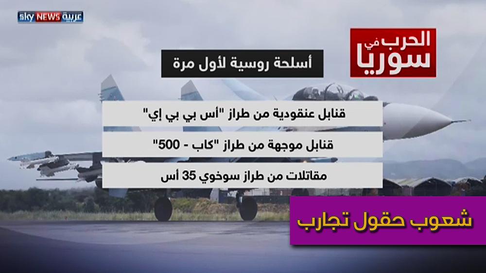 اسلحة روسية في سوريا