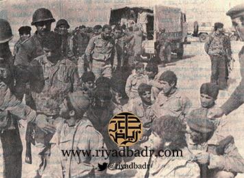 اسرى ايرانيين في قبضة الجيش العراقي في معارك الشيب