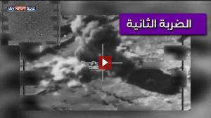 الضربة الامريكية الثانية لسوريا تستهدف قطعات ايرانية
