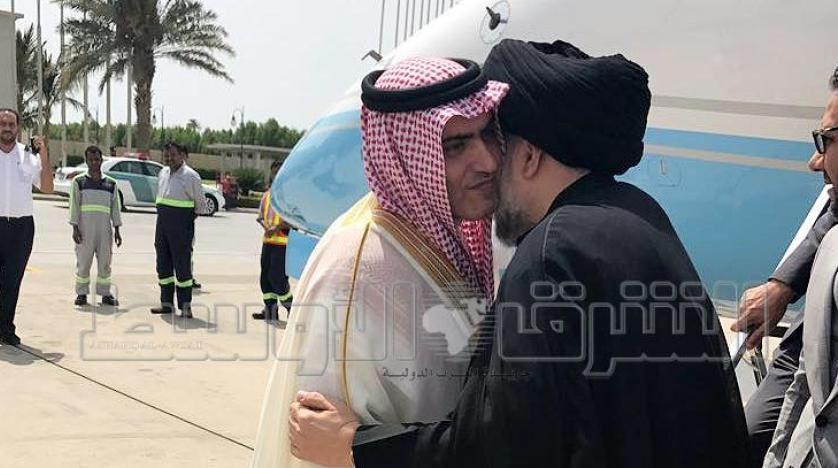 مقتدى الصدر في السعودية يستقبله السبهان
