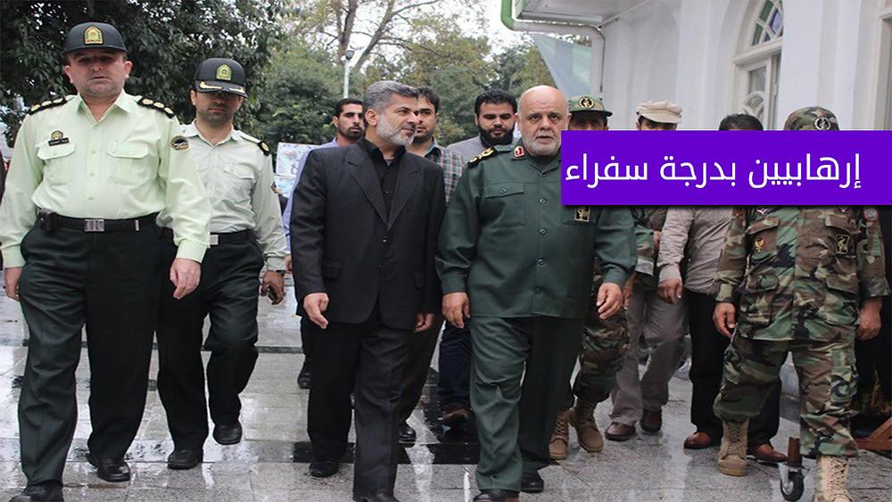 مسجدي مع بعض ضباط الحرس الثوري الايراني