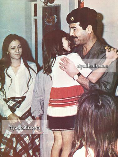 صورة نادرة للرئيس الراحل صدام حسين