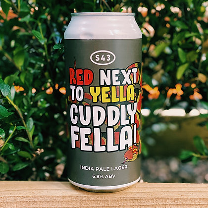 Red Next To Yella, Cuddly Fella - India Pale Lager 6.8%