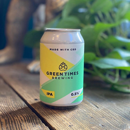 GREEN TIMES CBD Low-Alcohol IPA 0.5%