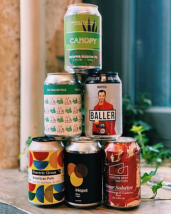 Mixed Craft Beer Cases - 330ml