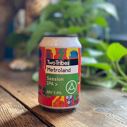 TWO TRIBES Metroland 3.8% Session IPA