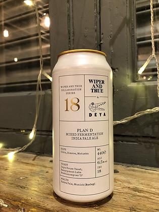 WIPER AND TRUE x DEYA Plan D 6.5% IPA