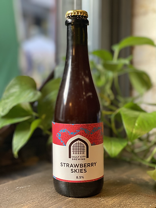 VAULT CITY Strawberry Skies 8.4% Sour