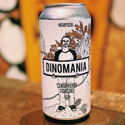 Dinomania - West Coast Pilsner 5%