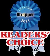2021 Readers Choice Award Ribbon Photo