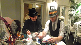 men millinery hat making london