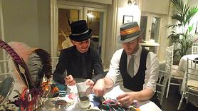 men millinery hat making london