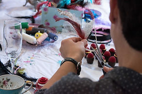 creative london hat making class