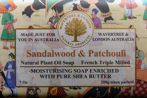 Sandlewood and Patchouli Soap bar