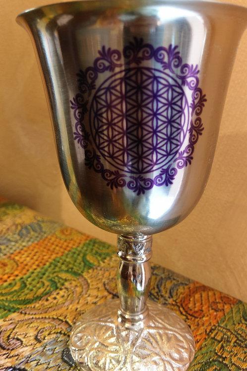 Flower of life goblet