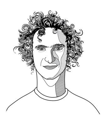 Illustration Adam Ondra Mastermind Buch
