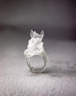 "縞馬""透"" / ZEBRA ""Transparent"" Ring"