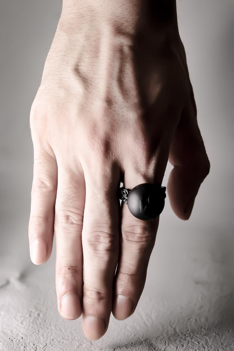 一点突破 /  One point breakthrough ring