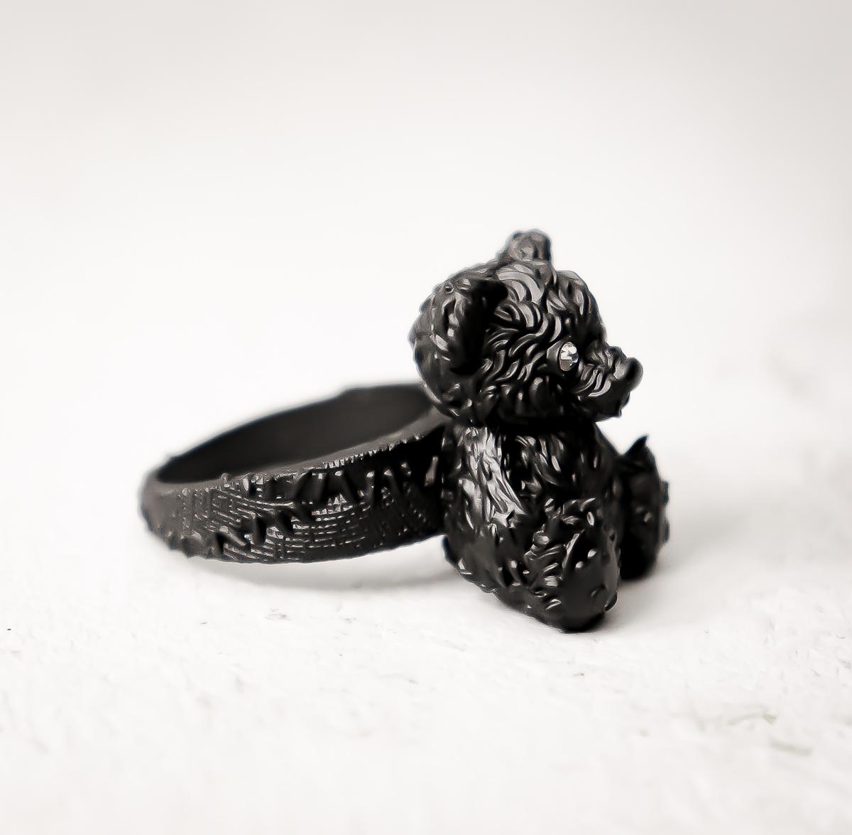 Sit down, tiny baby / Bear ring
