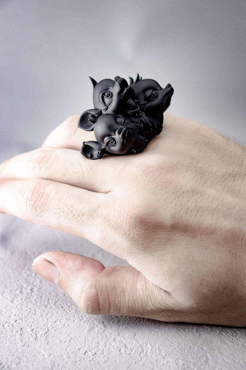 ケルベロスバンビ / Cerberus Bambi ring