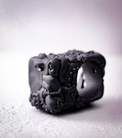 Square蛸 / Square Octopus ring