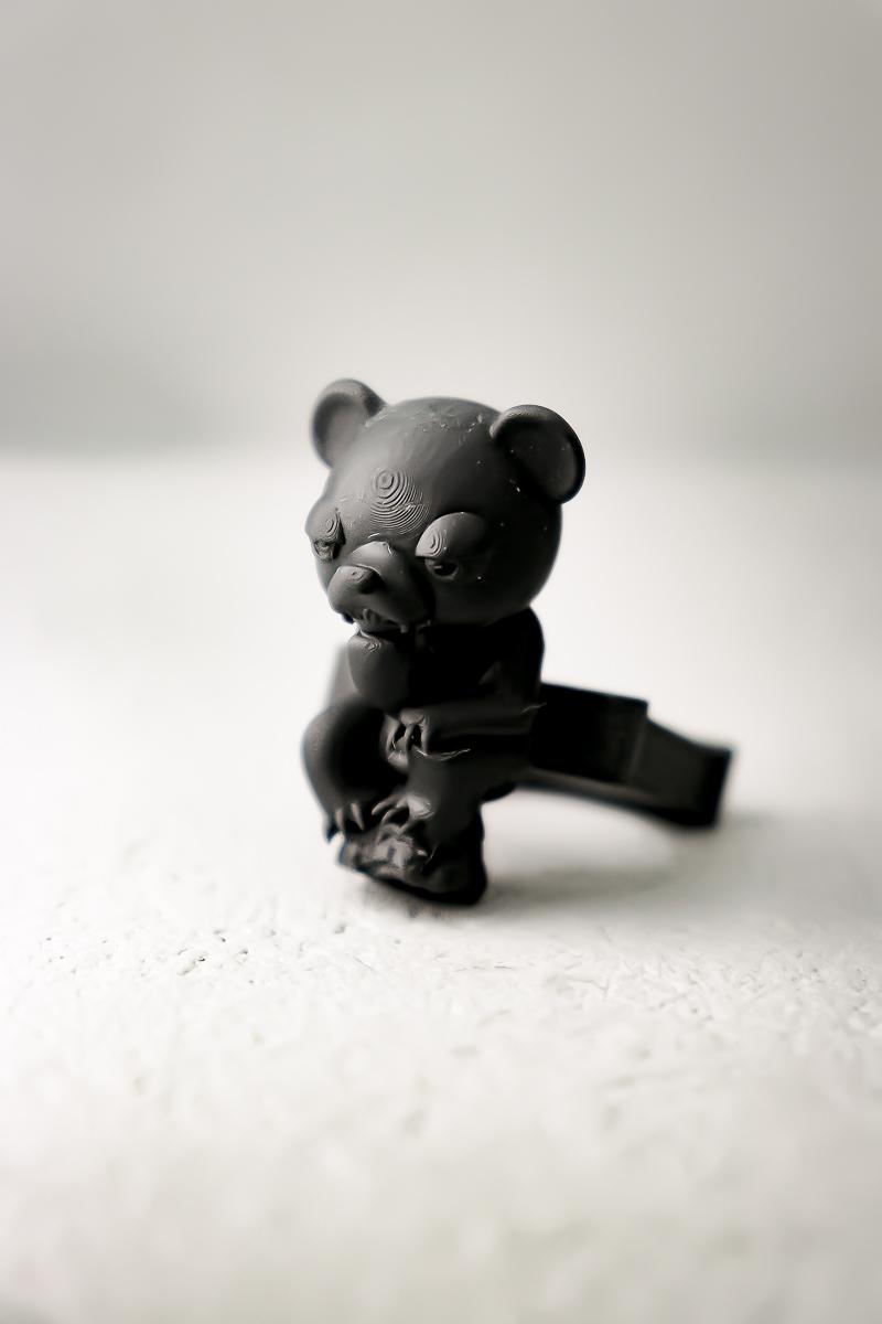 """考える人 """"熊"""" / Le Penseur """"BEAR"""" ring"""