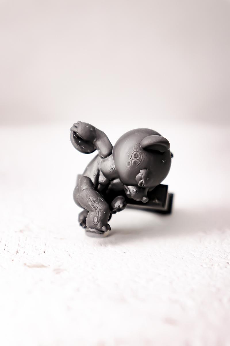 """円盤投げ像 """"熊"""" / Discus throw """"BEAR"""" ring"""