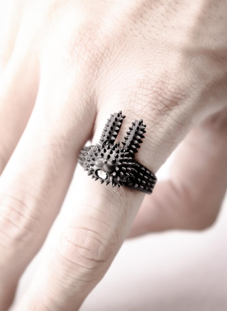 "棘兎""些"" / Spike RABBIT ""tiny"" ring"