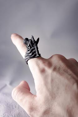 縞馬 / ZEBRA ring