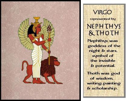 Nubian Horoscope Virgo