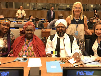 Youth Building Peace Event at United Nations Headquarters, NY