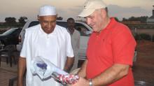 Former Prime Minister His Excellency As-Sayyid Saadiq Al Mahdi Visits Khartoum Polo Club.