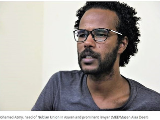 Nubian's right to return to their ancestral homeland?