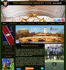 The Cambridge Croquet Club