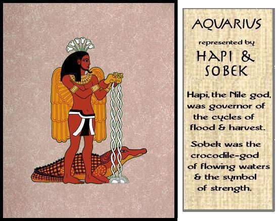 Nubian Horoscope Aquarius