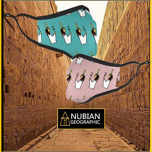 Nubian Geographic Covid Mask