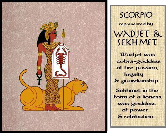 Nubian Horoscope Scorpio