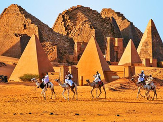 Deep in the desert in ancient Sudan This little-visited nation has more pyramids than Egypt, and tra
