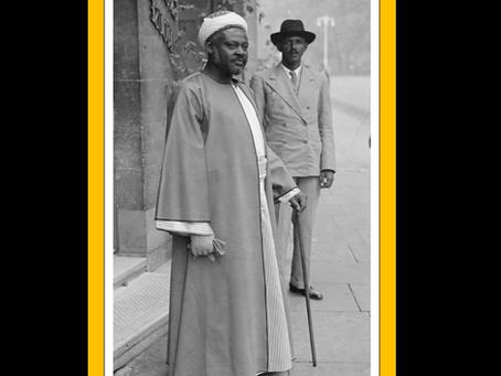 The King Of Nubia, Sudan Abdur Rahman Al Mahdi (AS)