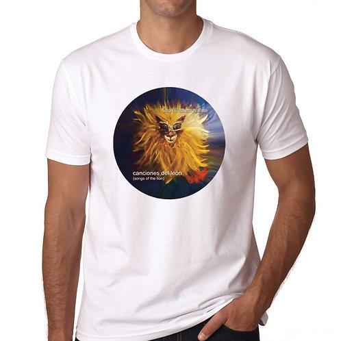 White Lion T-Shirt w/ Sarah's Original Artwork