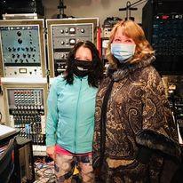Sarah and Liudmila Bondar at GBP Studios!