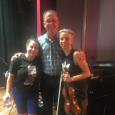 Summertime with Peter Larson-Pianist and Alayne Wegner-Violinist